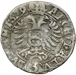 Austria, Ferdynand II, 3 Krajcary Kutná Hora 1629