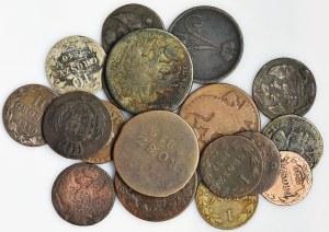 Zestaw, Mix monet zaborowych (18szt.)
