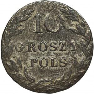 Królestwo Polskie, 10 groszy Warszawa 1816 IB
