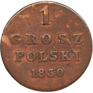 Królestwo Polskie, 1 grosz polski Warszawa 1830 FH