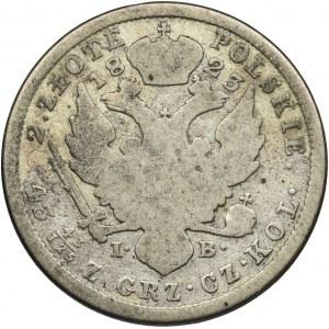 Królestwo Polskie, 2 złote Warszawa 1823 IB