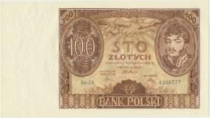 100 złotych 1934 - Ser.C.K. -