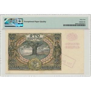100 złotych 1934 - przedruk okupacyjny - PMG 64 EPQ