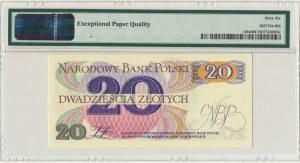 20 złotych 1982 - A - PMG 66 EPQ