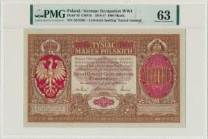 1.000 marek 1916 Generał - PMG 63 - RZADKOŚĆ