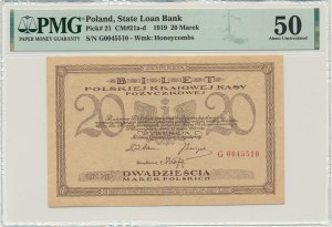 20 marek 1919 - G - PMG 50