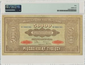 50.000 marek 1922 - W - PMG 50