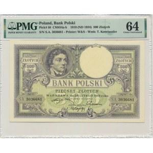 500 złotych 1919 - PMG 64