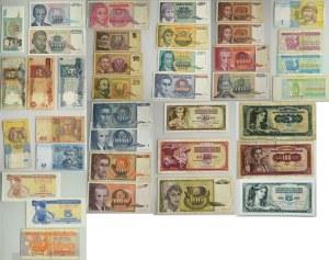 Zestaw banknotów europejskich (ok.330 szt.) - DUŻY