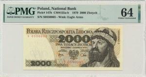 2.000 złotych 1979 - S - PMG 64