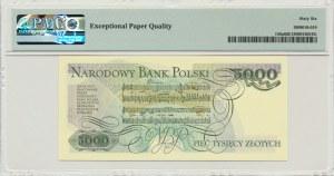 5.000 złotych 1982 - B - PMG 66 EPQ - rzadka