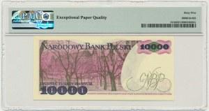 10.000 złotych 1988 - W - PMG 65 EPQ - pierwsza seria rocznika