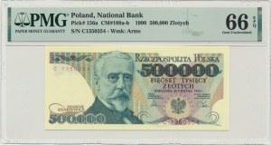 500.000 złotych 1990 - C - PMG 66 EPQ