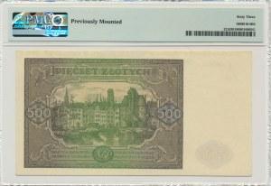 500 złotych 1946 - I - PMG 63