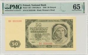 50 złotych 1948 - EC - PMG 65 EPQ