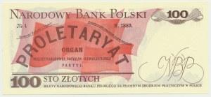 100 złotych 1982 - HG - pierwsza seria rocznika