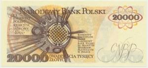 20.000 złotych 1989 - AG -