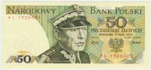 50 złotych 1975 - AL -