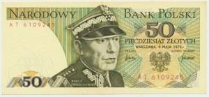 50 złotych 1975 - AT -