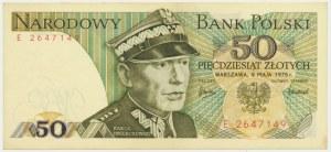 50 złotych 1975 - E -