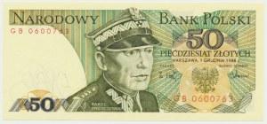 50 złotych 1988 - GB - pierwsza seria rocznika