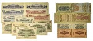 Zestaw, Banknoty Ober-ost (31 szt.)
