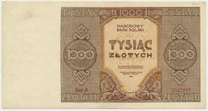 1.000 złotych 1945 - A - ładny