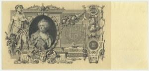 Russia, 100 rubles 1910 - Konszin signature -