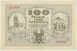 Danzig, 100 mark 1922