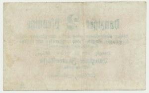 Gdańsk, 2 fenigi 1923 Październik -