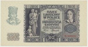 20 złotych 1940 - H -