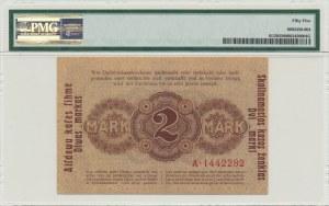 Kowno, 2 mark 1918 - A - PMG 55 - RARE