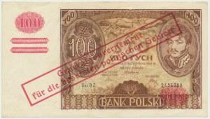100 złotych 1934 - fałszywy przedruk okupacyjny -