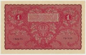 1 marka 1919 - I Serja CL -