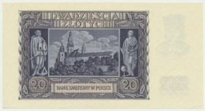 20 złotych 1940 - B -