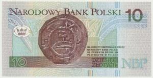 10 złotych 1994 - AH - rzadka seria