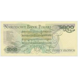 5.000 złotych 1982 - D -
