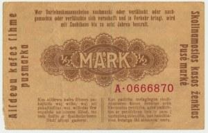 Kowno, 1/2 mark 1918 - A -