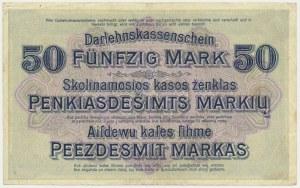 Kowno, 50 marek 1918 - E -