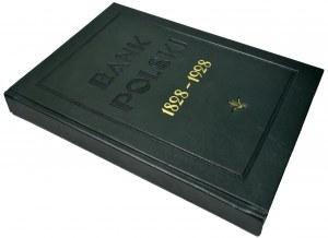Bank Polski 1828-1928 - reprint w skóropodobnej oprawie