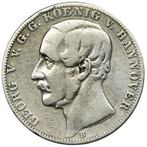 Niemcy, Hanower, Jerzy V, Talar 1859 B