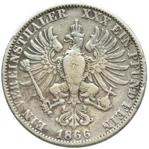 Niemcy, Królestwo Prus, Wilhelm I, Talar Berlin 1866 A