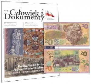 PWPW, 20 złotych (2019) - FO - Polskie żubry