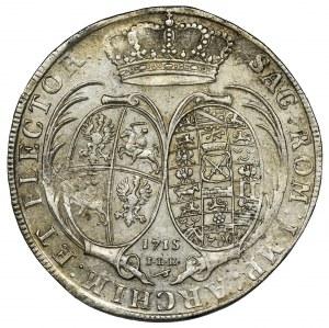 August II Mocny, Talar Drezno 1715 ILH - RZADKI