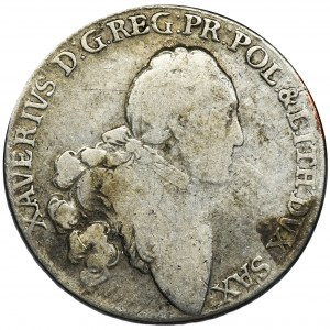 Ksawery, 2/3 Talara (gulden) Drezno 1766 EDC