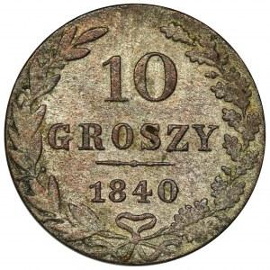 10 groschen Warsaw 1840 MW