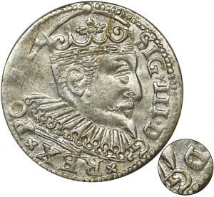Sigismund III Vasa, 3 Groschen Riga 1598