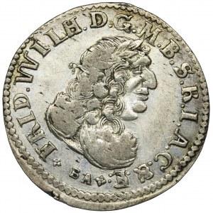 Germany, Brandenburg-Prussia, Frederic Wilhelm, 6 groschen Konigsberg 1686 BA