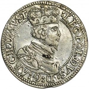 Austria, Leopold V, 3 Kreuzer Hall no date