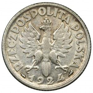 Kobieta i kłosy, 1 złoty Paryż 1924